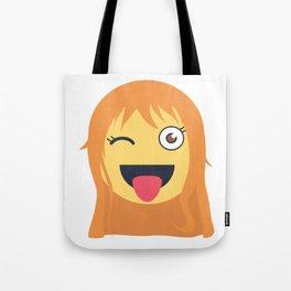 Nami Emoji Design Tote Bag