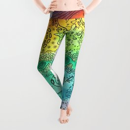 Dreamscape Rainbow Leggings