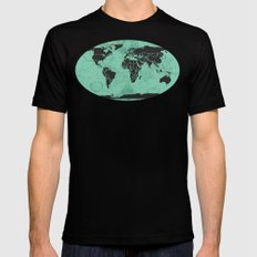 Paradigm Time Mens Fitted Tee MEDIUM Black