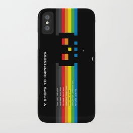 7 Steps To Happiness iPhone Case