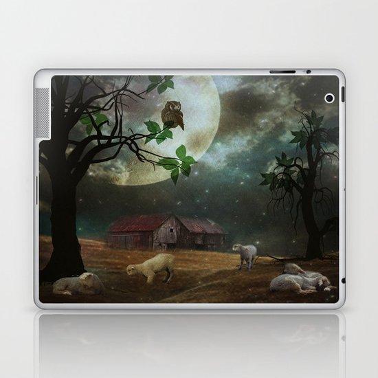 By the Moon Light Laptop & iPad Skin