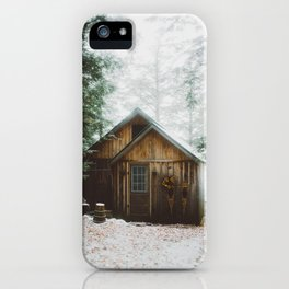 The Perfect Cabin iPhone Case