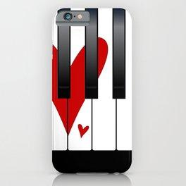 Love Piano iPhone Case