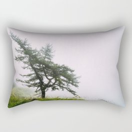 A lonely tree Rectangular Pillow