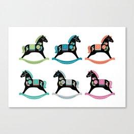 Rocking Horses Canvas Print