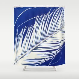 Klein Palm Tree Shower Curtain