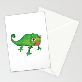 Pascel (From Tangled) Watercolor Stationery Cards