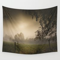 heroes Wall Tapestries featuring Even heroes cry sometimes by HappyMelvin