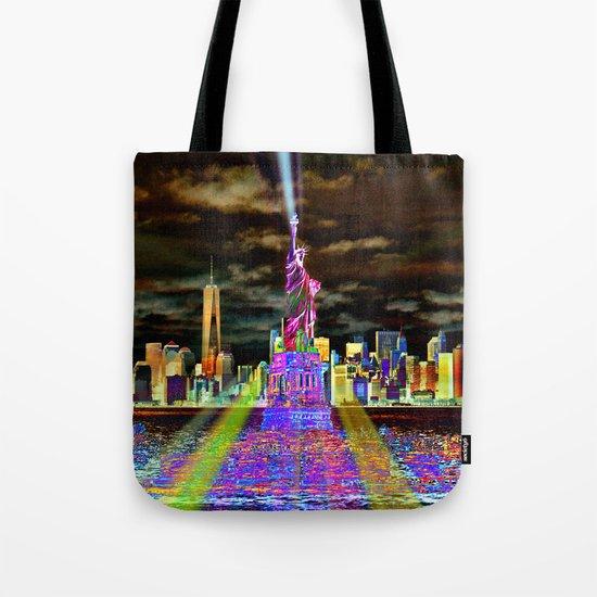 Pop New York Tote Bag