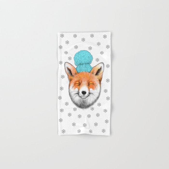 winter fox Hand & Bath Towel