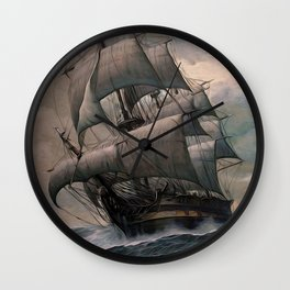 Black Sails Wall Clock