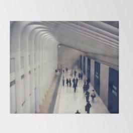 World Trade Center, Freedom Tower Transit Center Throw Blanket