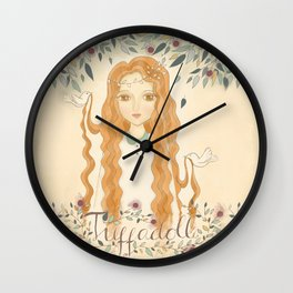 Queen Jodha Wall Clock