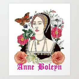 Anne Boleyn Art Print