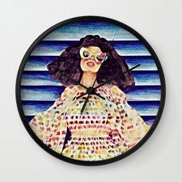 Summer Mexicano Wall Clock