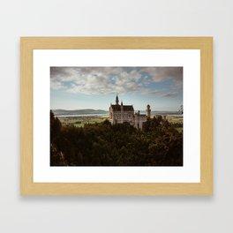 Neuschwanstein Castle in Germany Framed Art Print