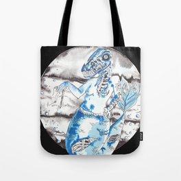Frankenstien's Mermasaur Tote Bag