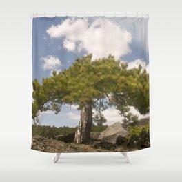 Volcano Etna - Sicily - Italy Shower Curtain
