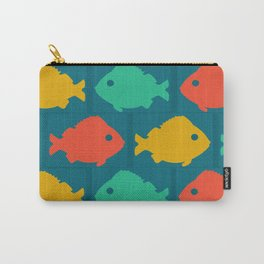 colourful fishes Carry-All Pouch