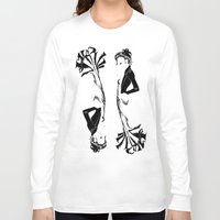 victorian Long Sleeve T-shirts featuring victorian  by Nancy Blau