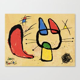From the famous feline artist, Joan Miow-ro' Canvas Print