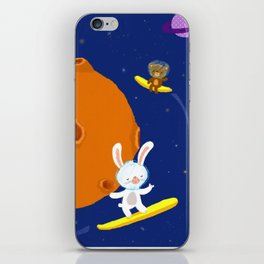 Space Fun iPhone Skin