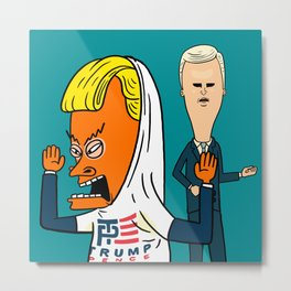TP for America's Bunghole Metal Print