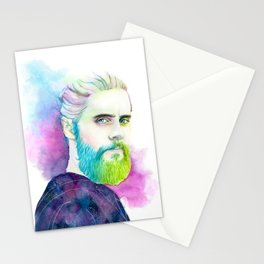 Monolith | Colourful Jared Leto Stationery Cards