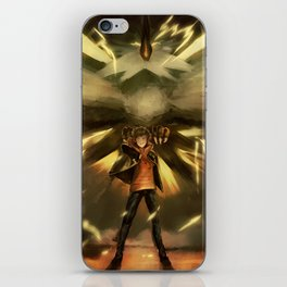 Spark//TEAM INSTINCT iPhone Skin