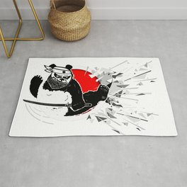 Eastern martial art from kung fu panda. Rug