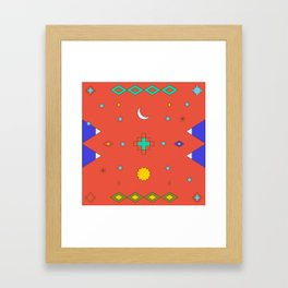 South America Dreaming Framed Art Print