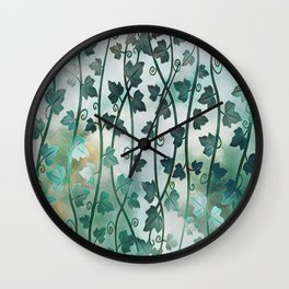Vines of Ivy Wall Clock