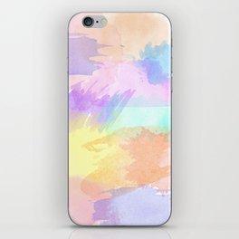 Watercolor Splash iPhone Skin