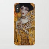 klimt iPhone & iPod Cases featuring klimt by Antonio Lorente
