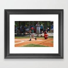 2012 Little League All-star Baseball Richmond Hill Ga.  Framed Art Print