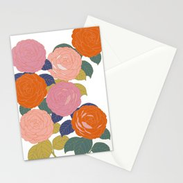 Flowers In Full Bloom Stationery Cards