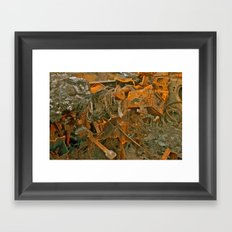 Burnout Framed Art Print