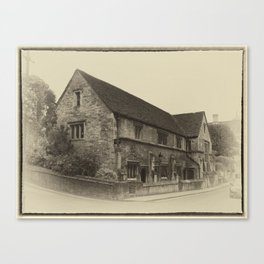 Masonic Lodge Bradford on Avon Canvas Print