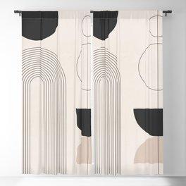 Geometric Shapes 52 Blackout Curtain