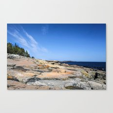 The Schoodic View of Maine Canvas Print