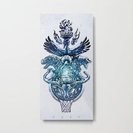 NBA Eastern Conference Metal Print