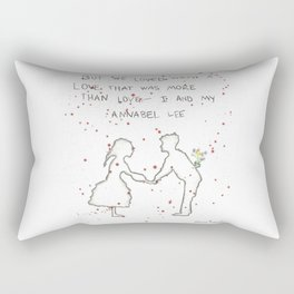 Annabel Lee Rectangular Pillow