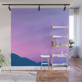 Sunset Layers Wall Mural