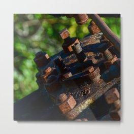 Rust - II Metal Print