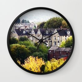 Autumn in West Yorkshire Wall Clock