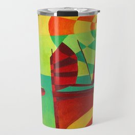 Chinese Junks On Still Waters Travel Mug