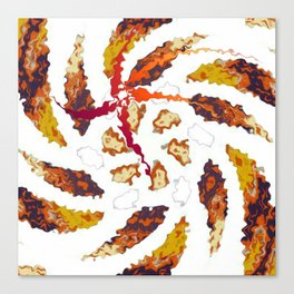 Twirly Kaleidoscope Canvas Print