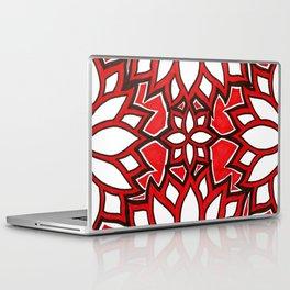 red lotus Laptop & iPad Skin