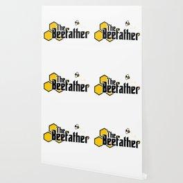 The Beefather - Bee Honey Beekeeper Honeycombs Wallpaper