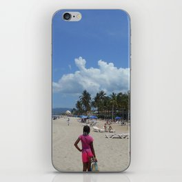 """""""Camille and The Beach"""" iPhone Skin"""